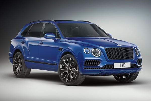 Bentley komt met Bentayga Design Series